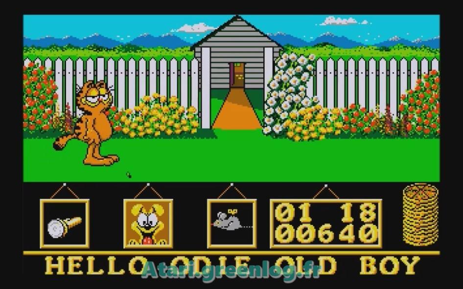Garfield : Impression d'écran 8