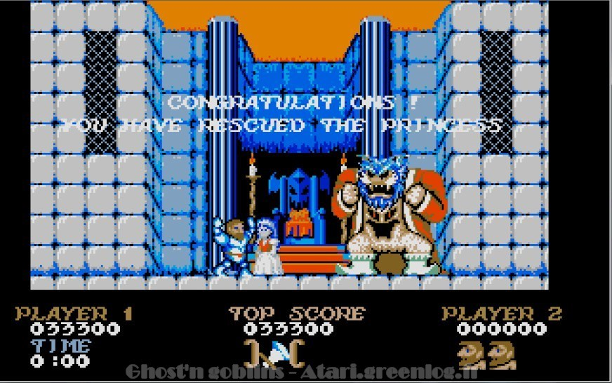 Ghosts'n Goblins : Impression d'écran 1