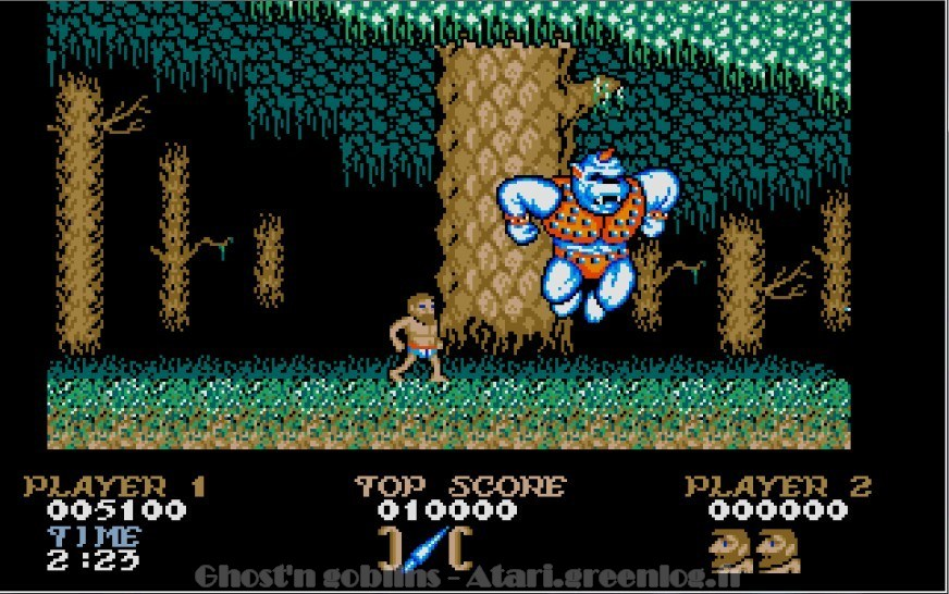 Ghosts'n Goblins : Impression d'écran 11