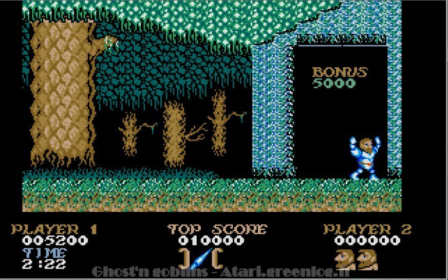Ghosts'n Goblins : Impression d'écran 13