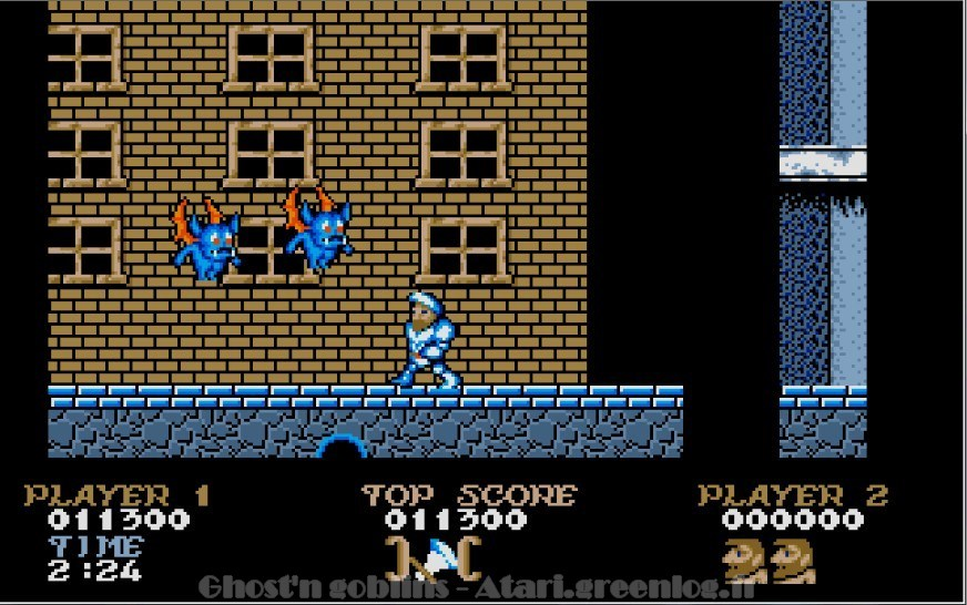 Ghosts'n Goblins : Impression d'écran 15