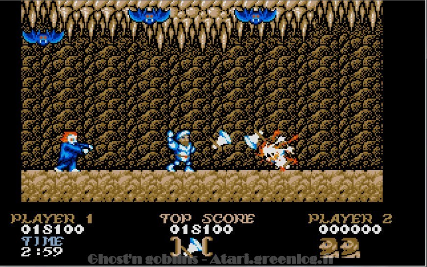 Ghosts'n Goblins : Impression d'écran 19