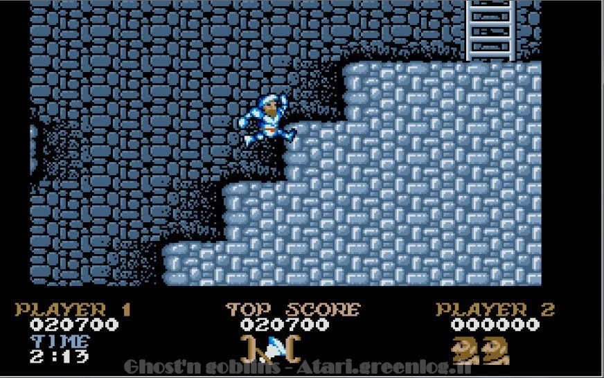 Ghosts'n Goblins : Impression d'écran 21