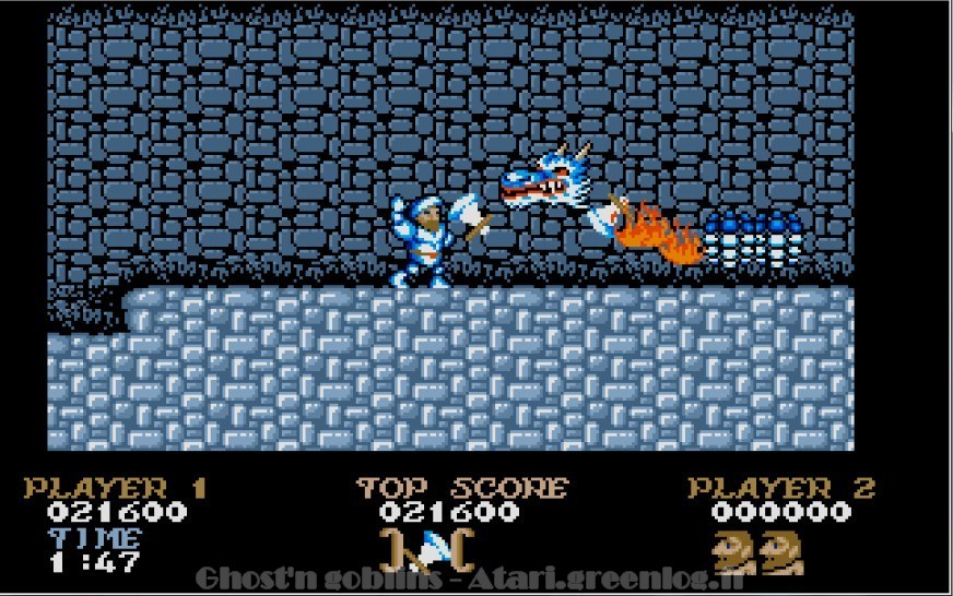 Ghosts'n Goblins : Impression d'écran 23