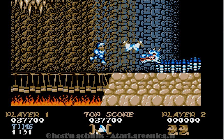 Ghosts'n Goblins : Impression d'écran 29
