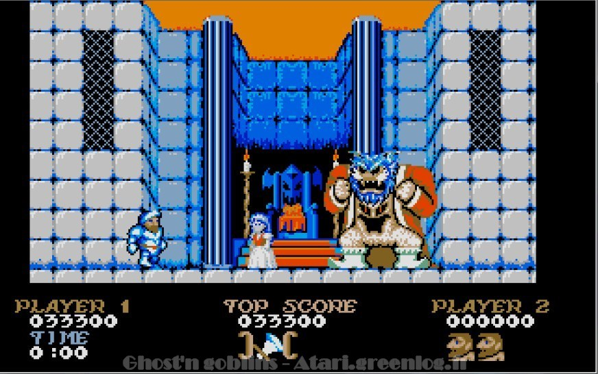 Ghosts'n Goblins : Impression d'écran 31