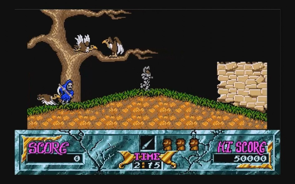Ghouls and Ghosts : Impression d'écran 2