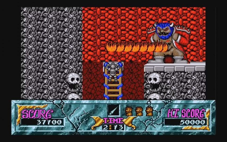 Ghouls and Ghosts : Impression d'écran 10