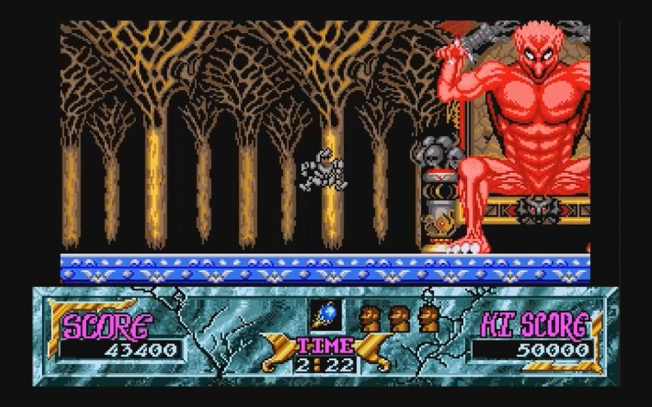 Ghouls and Ghosts : Impression d'écran 24