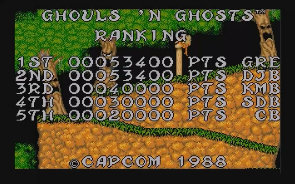 Ghouls and Ghosts : Impression d'écran 27