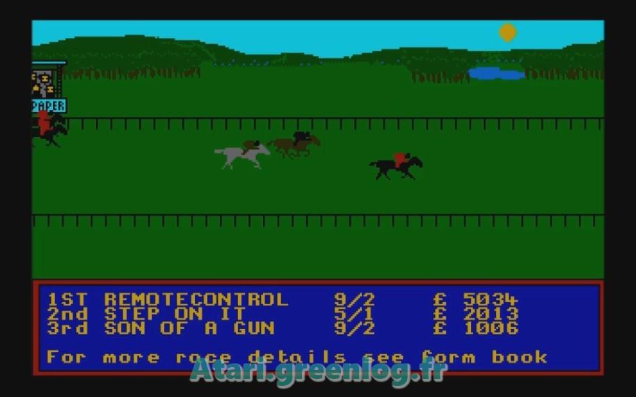 Horse Racung Simulator : Impression d'écran 8