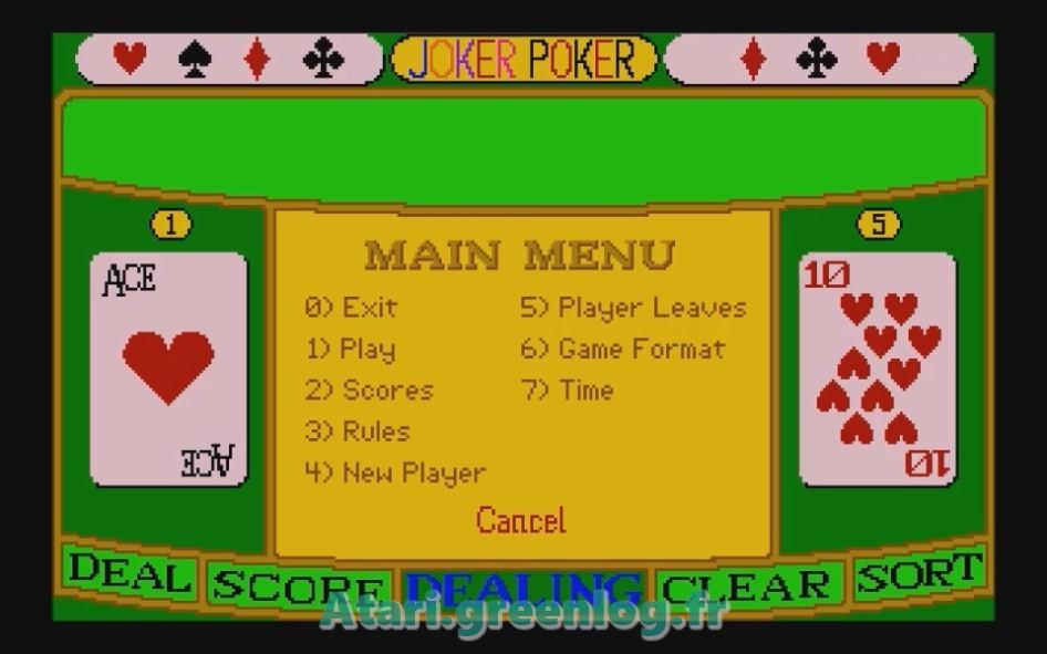 Joker Poker : Impression d'écran 4