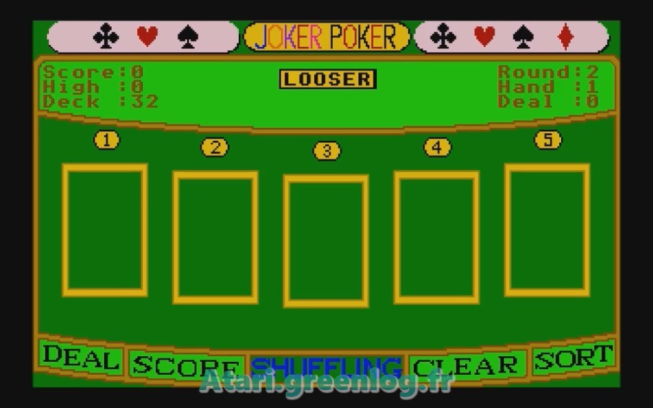 Joker Poker : Impression d'écran 6