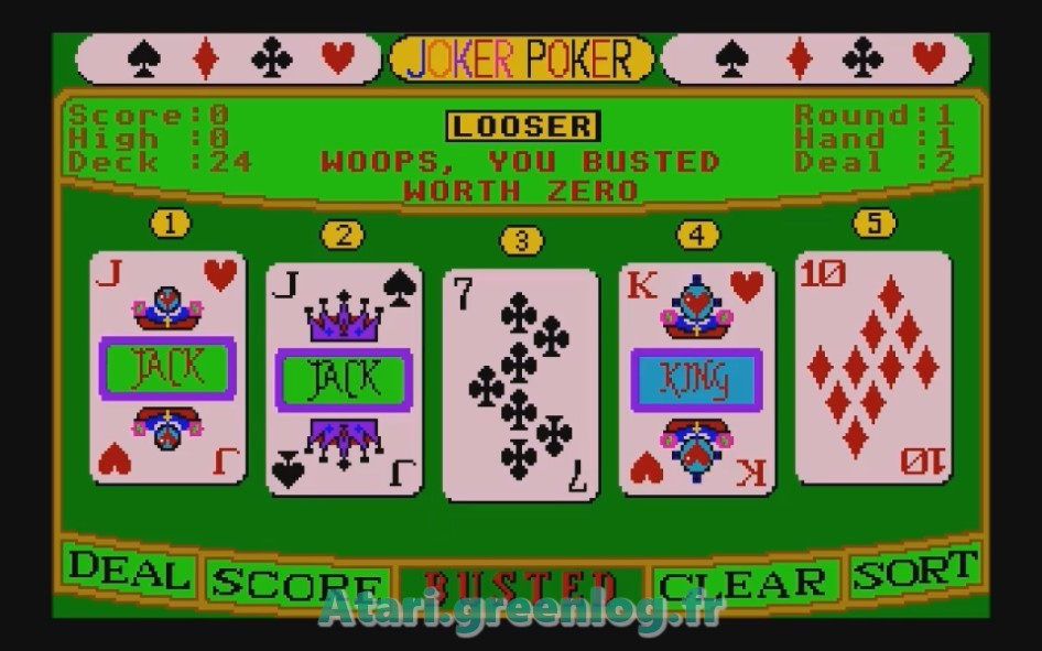Joker Poker : Impression d'écran 10