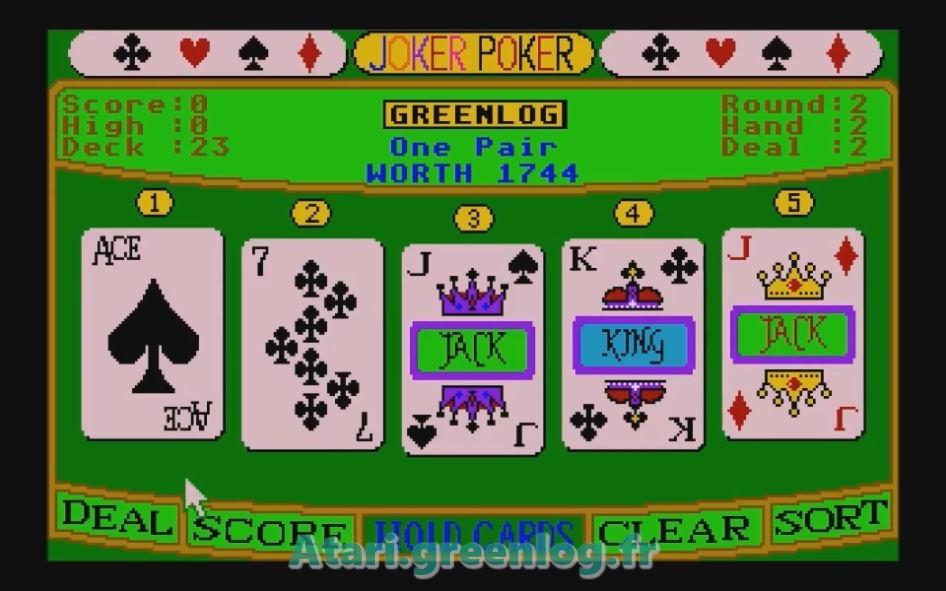 Joker Poker : Impression d'écran 11