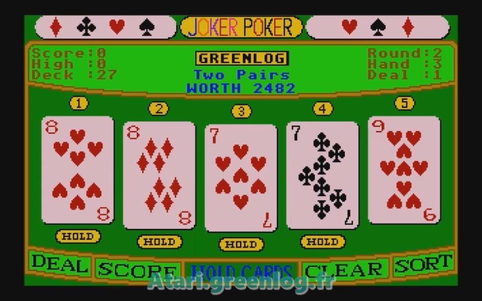 Joker Poker : Impression d'écran 12