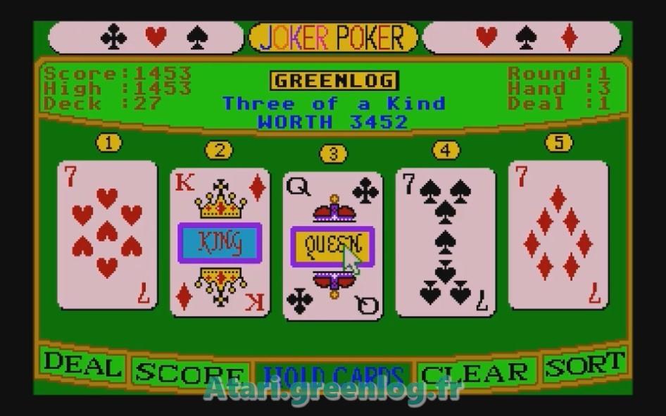 Joker Poker : Impression d'écran 13
