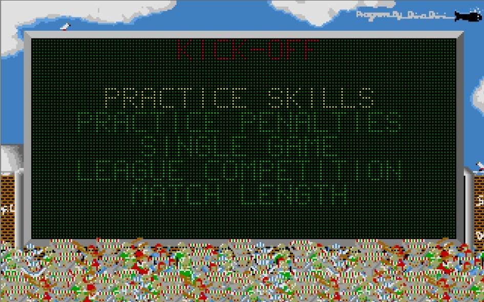 Kick Off : Impression d'écran 3