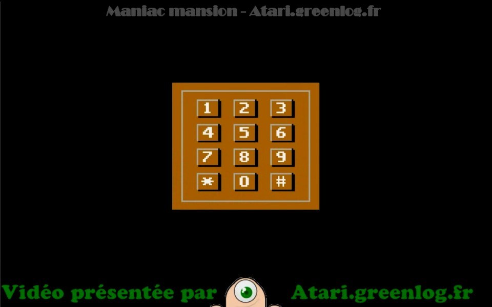 Maniac Mansion : Impression d'écran 10