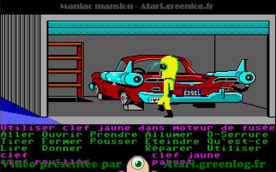 Maniac Mansion : Impression d'écran 17
