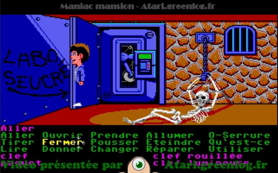 Maniac Mansion : Impression d'écran 2