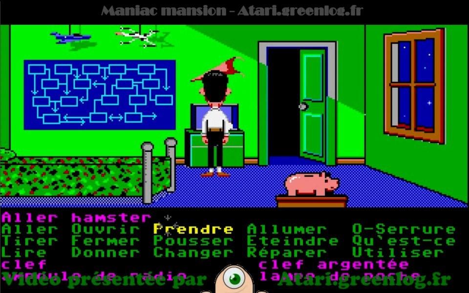 Maniac Mansion : Impression d'écran 22