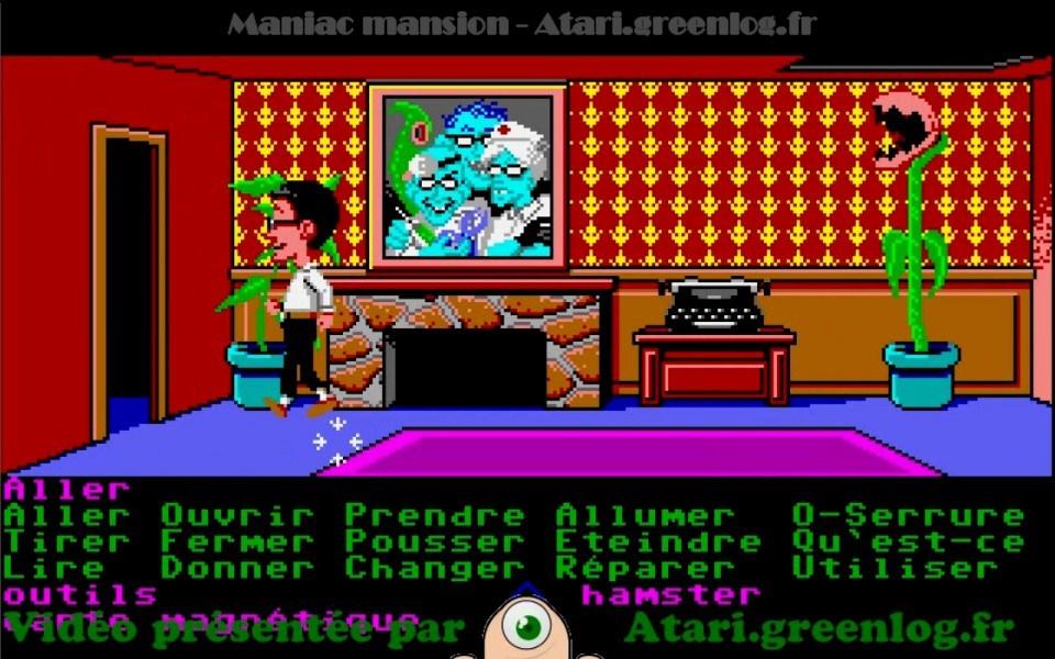 Maniac Mansion : Impression d'écran 24