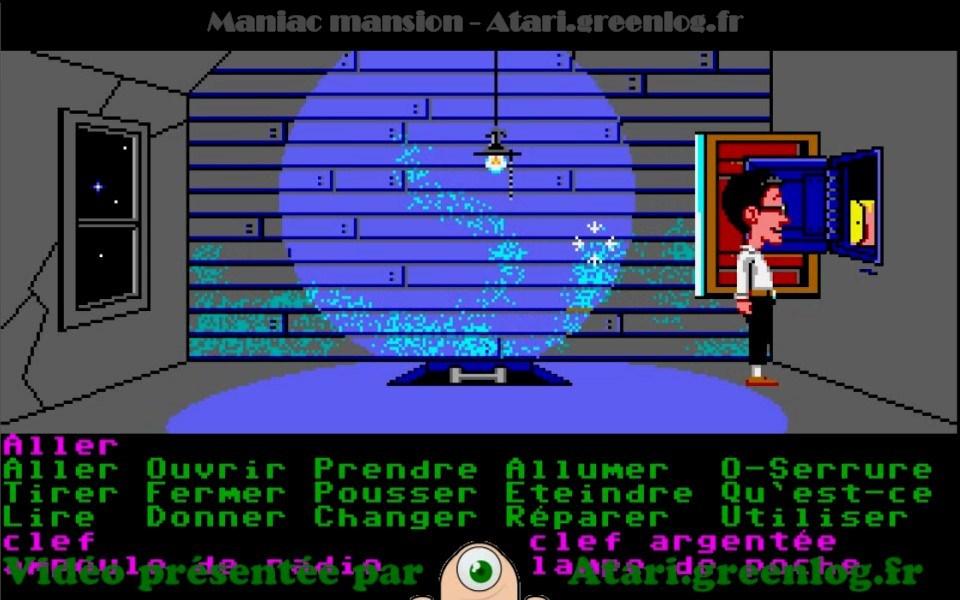 Maniac Mansion : Impression d'écran 30