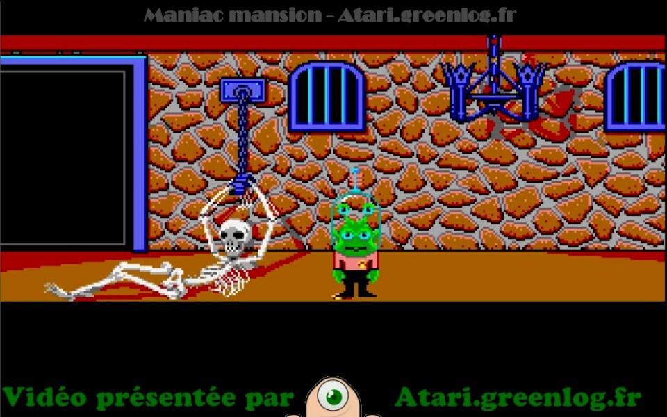 Maniac Mansion : Impression d'écran 38