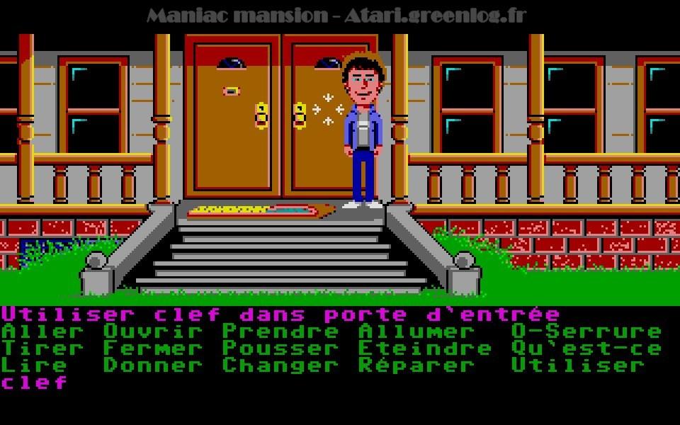 Maniac Mansion : Impression d'écran 46