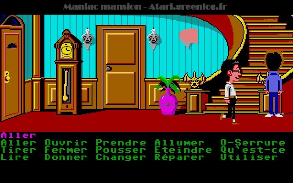 Maniac Mansion : Impression d'écran 47