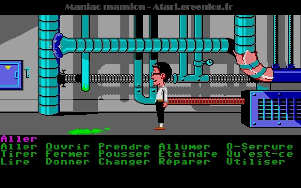Maniac Mansion : Impression d'écran 48
