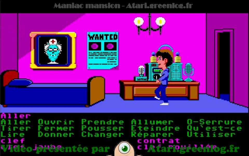 Maniac Mansion : Impression d'écran 5