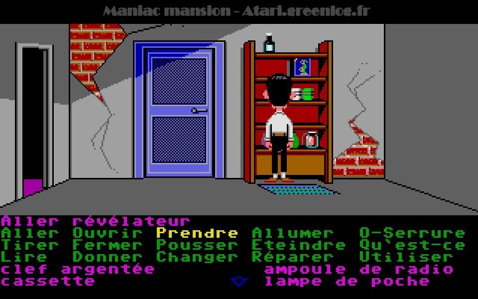 Maniac Mansion : Impression d'écran 53