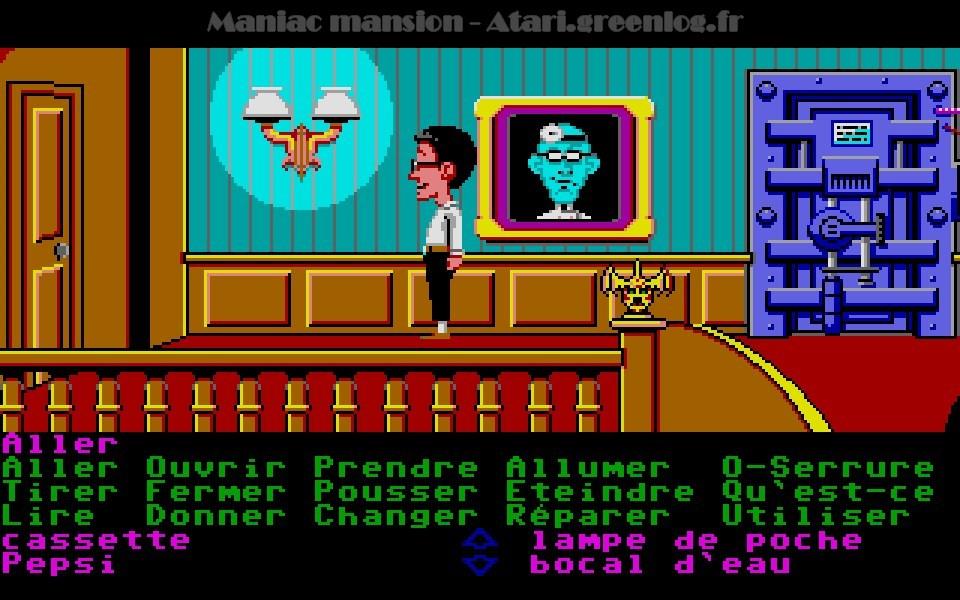 Maniac Mansion : Impression d'écran 55
