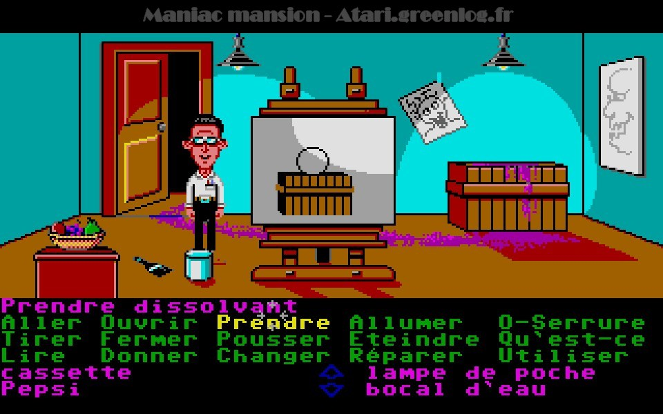 Maniac Mansion : Impression d'écran 56