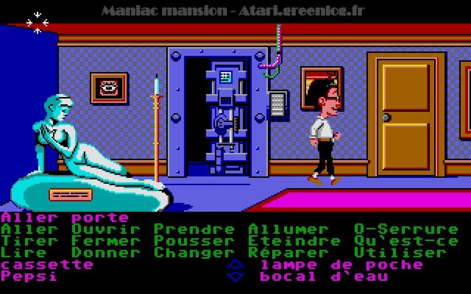 Maniac Mansion : Impression d'écran 57
