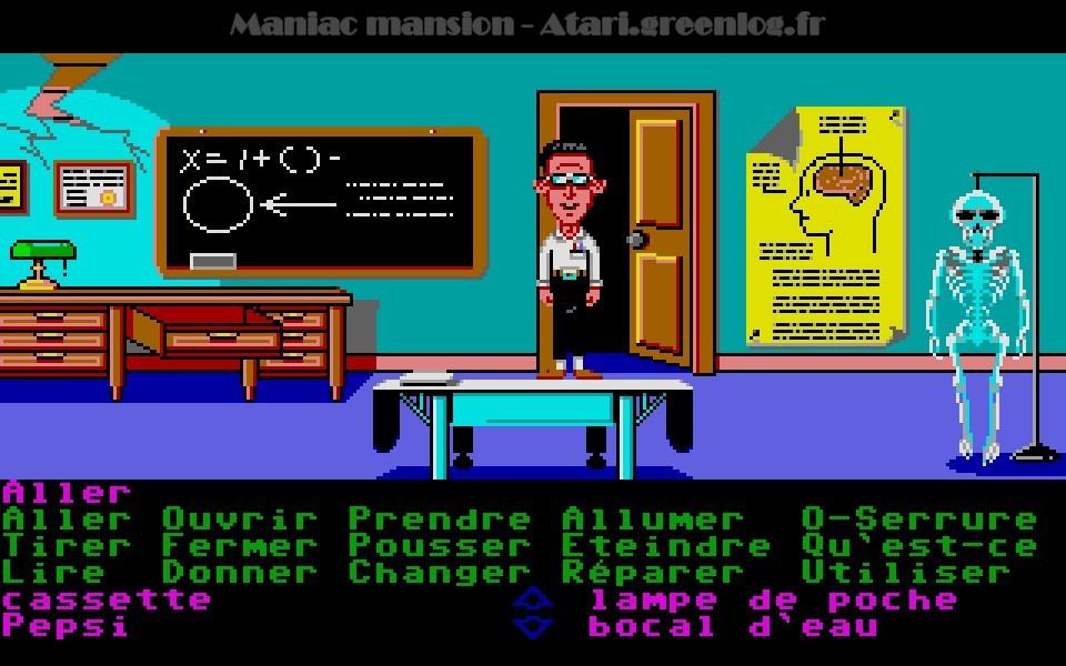 Maniac Mansion : Impression d'écran 58