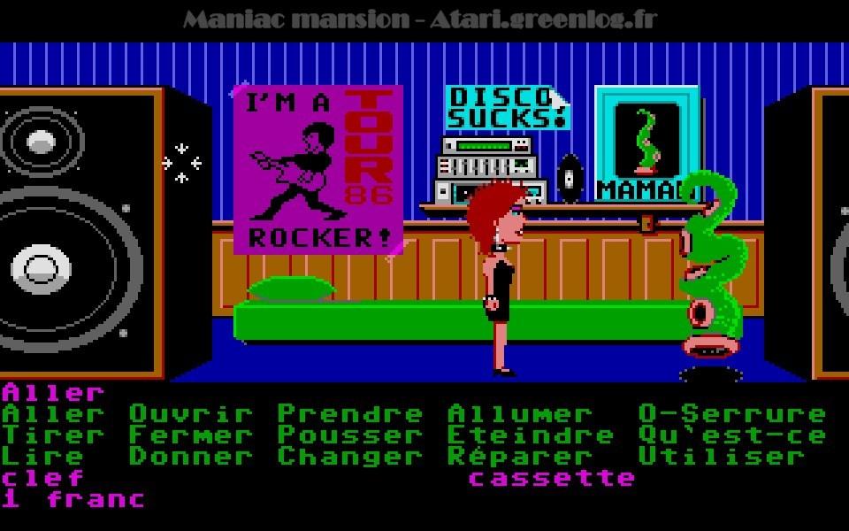 Maniac Mansion : Impression d'écran 68