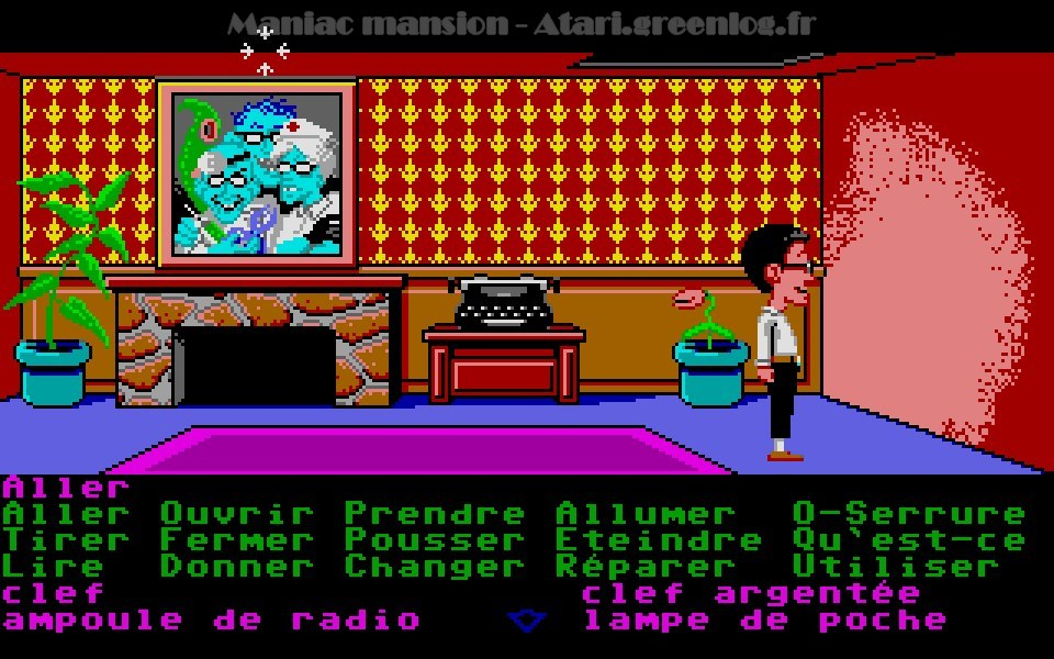 Maniac Mansion : Impression d'écran 77