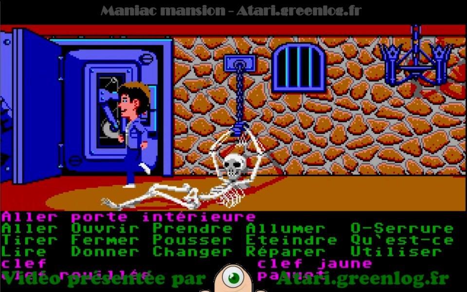Maniac Mansion : Impression d'écran 8