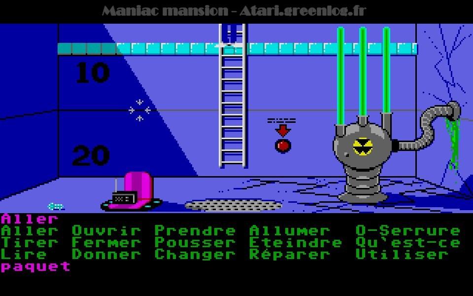 Maniac Mansion : Impression d'écran 81