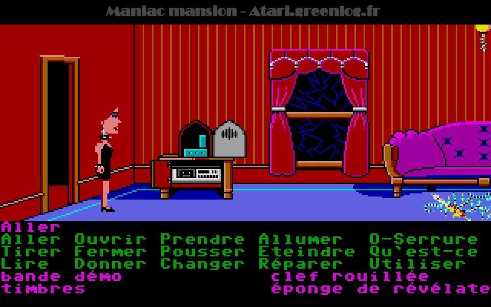 Maniac Mansion : Impression d'écran 82