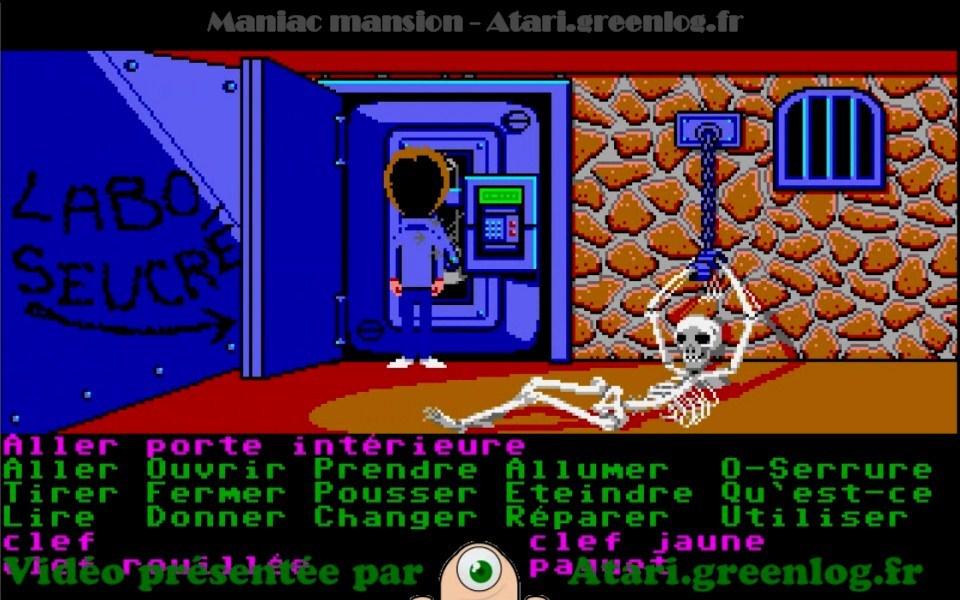 Maniac Mansion : Impression d'écran 9
