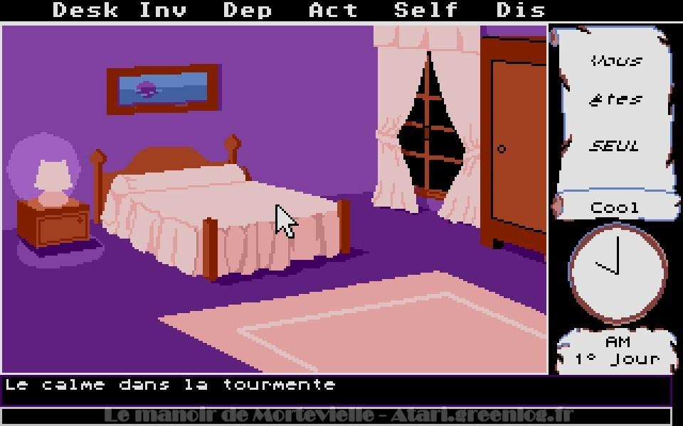 Le manoir de Mortevielle : 1ère porte à Gauche - Votre chambre