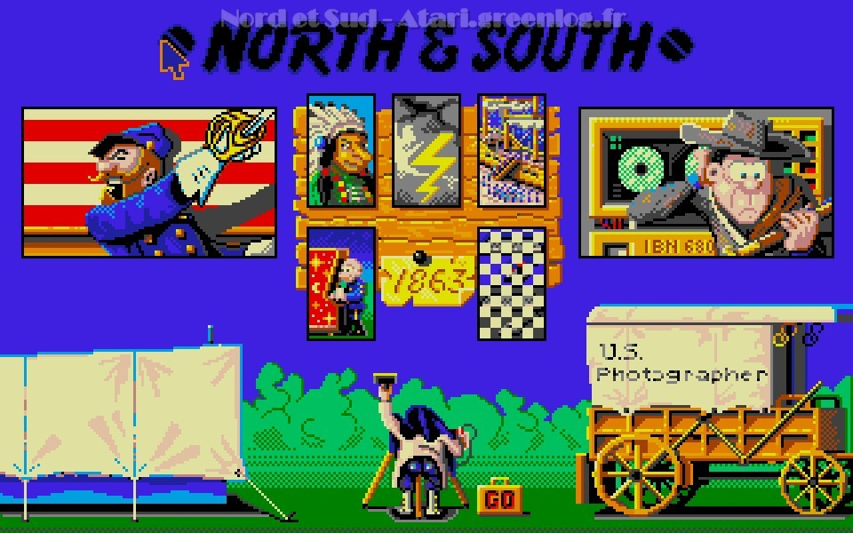 Nord et Sud : Impression d'écran 04