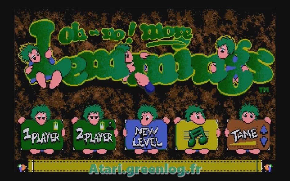 Oh No ! More Lemmings : Impression d'écran 3