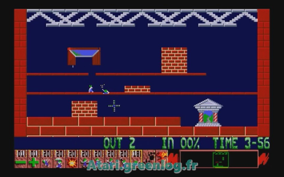 Oh No ! More Lemmings : Impression d'écran 4