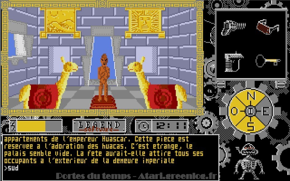 Les portes du temps : Impression d'écran 23