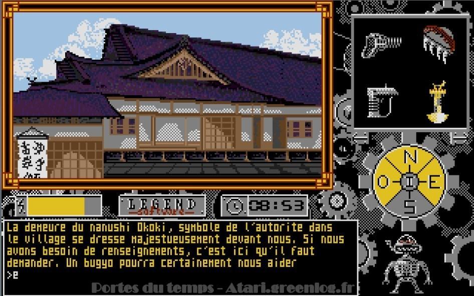 Les portes du temps : Impression d'écran 31